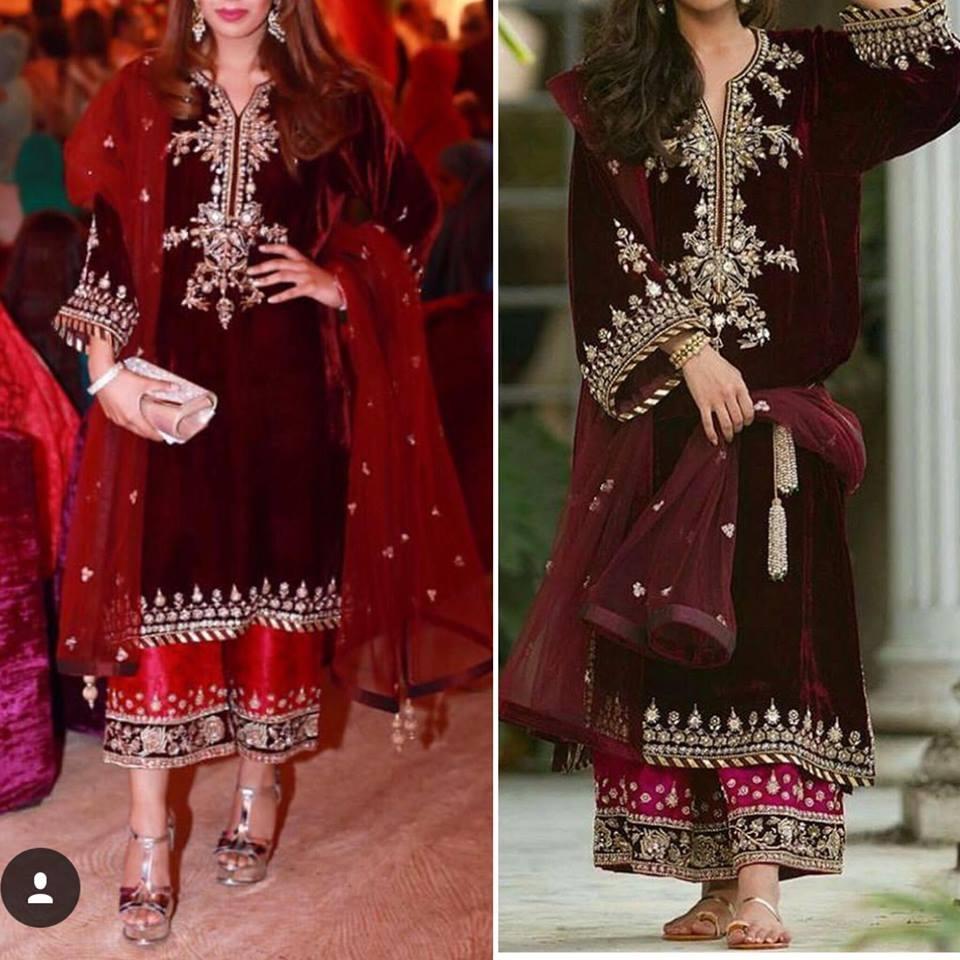 Velvet Dress Code 002 – Pakistan Bridal Dresses
