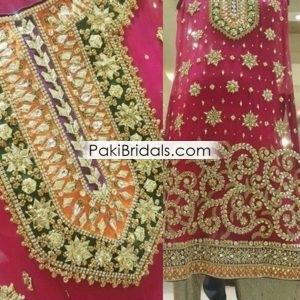 caf5afd1704 Silver Bridal Maxi Dress 282 – Pakistan Bridal Dresses