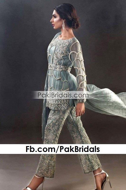 1057fbe7c1 Grey Wedding Wear 335 – Pakistan Bridal Dresses