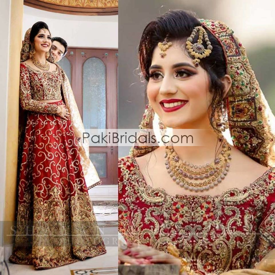 721cec8c684 Red Bridal Dress 216 – Pakistan Bridal Dresses