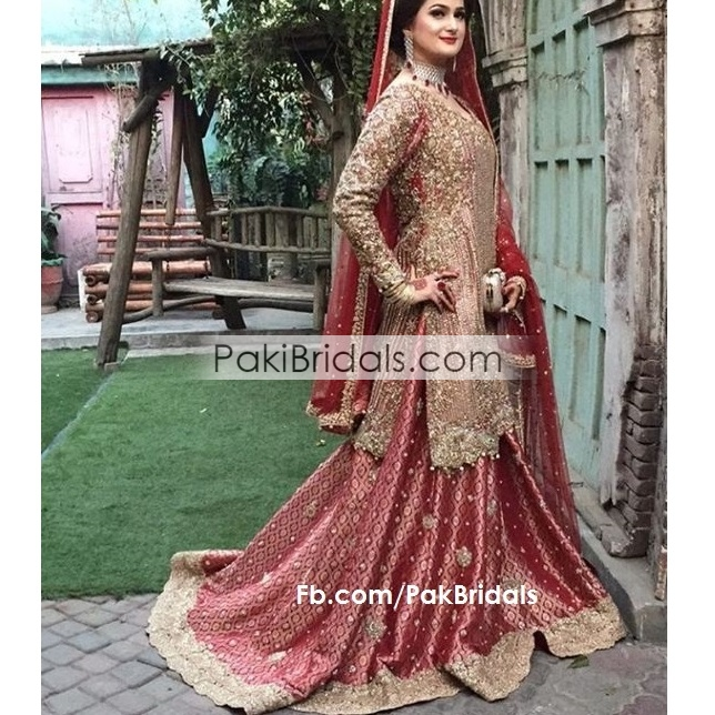 Pakistani Bridal Lehengas: Pakistani-bridals-dress-Party-wear- (31