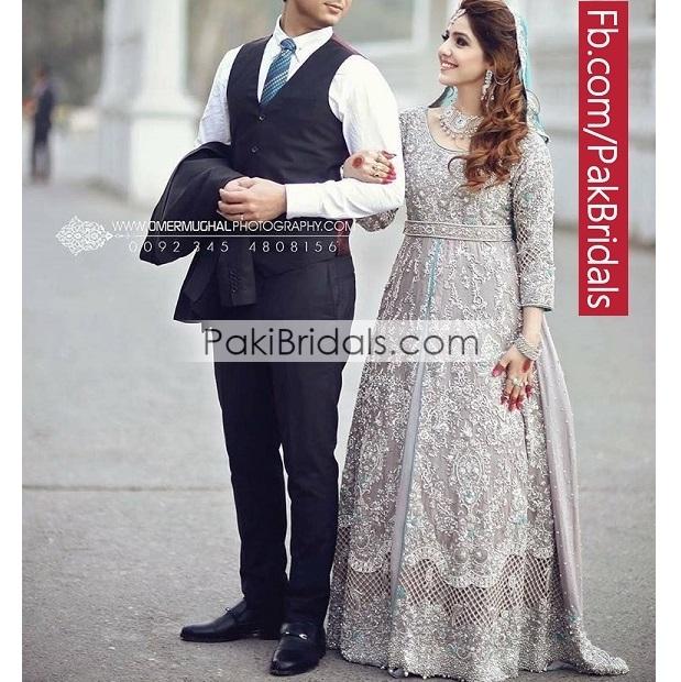 Silver Bridal Maxi Dress 644